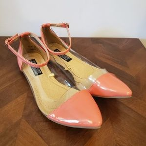 Deena and Ozzy  pink flats size 8